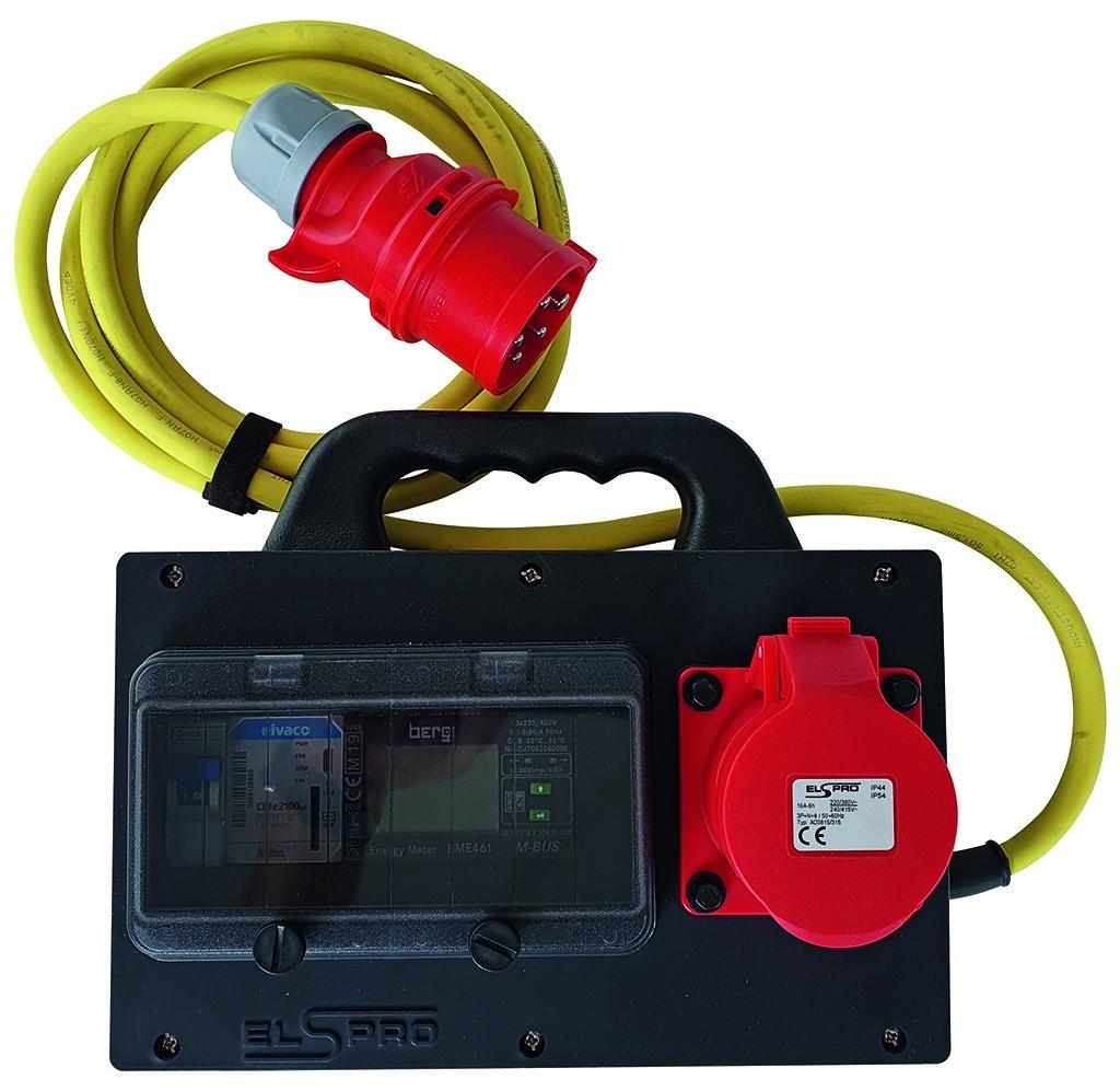 Mobiler Messkoffer ideal für mobile Strommessungen
